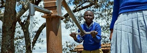 Afrikaanse waterpomp
