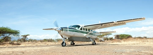 Amref Flying Doctors vliegtuig