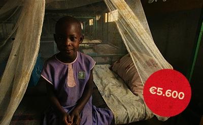 Wat doet Amref met 5600 euro sponsorgeld