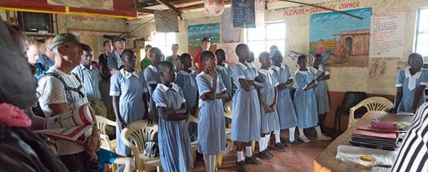 Afrikaanse schoolkinderen